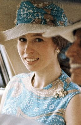 About the British Royals: a young Princess Anne