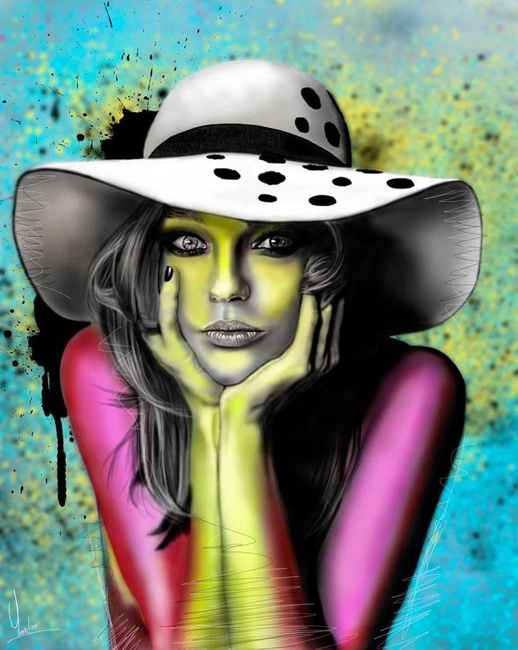 Pop Art Dibujo Dgtl Y.m.c