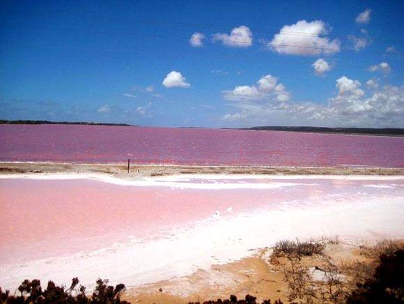 Lake Retba (Pink Lake), Senegal