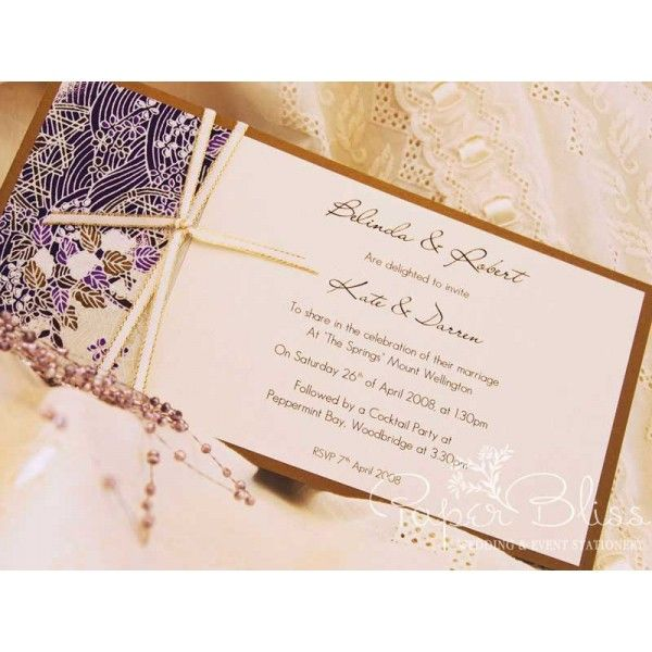 The Oriental Mauve collection features beautiful purple/mauve/gold Japanese paper mounted on Antique Gold metallic card.