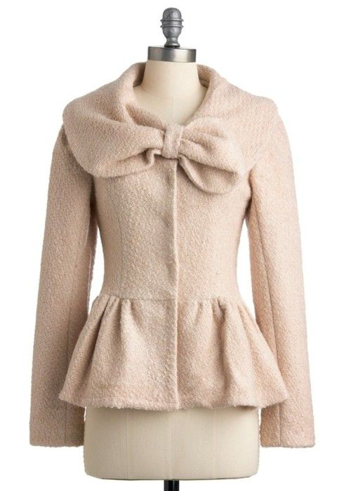 .Holiday Jackets, Fashion, Style, Clothing, Vintage Jacket, Bows, Modcloth Com, Coats, The Holiday