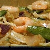 Wok met garnalen : Recepten van Domy