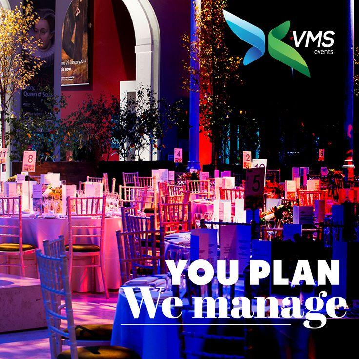 #VmsEventsPvtLtd You Plan: We Manage