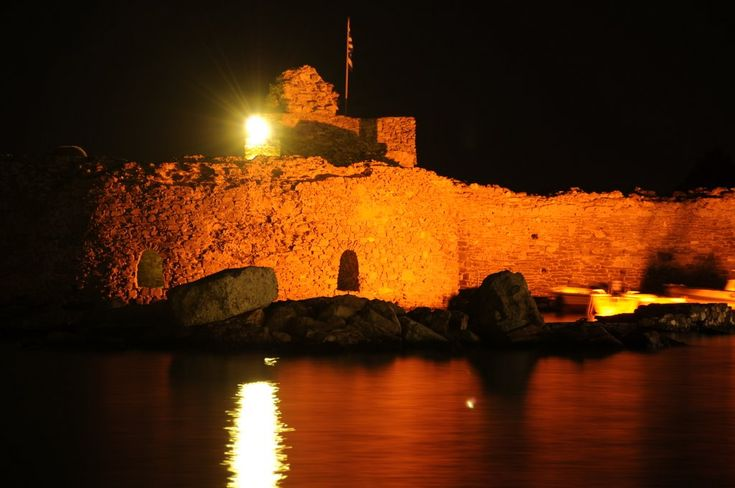 Fort of Naousa Paros Island Cyclades