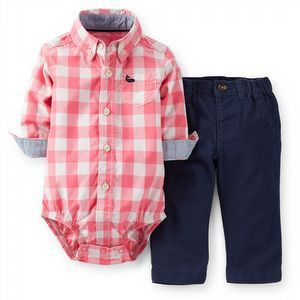 Carter's | Baby Boy | New Arrivals | Carter's Check Shirt Red Set