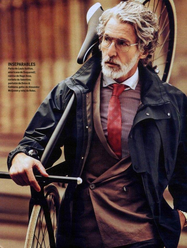 AIDEN SHAW + FIXED GEAR: Dapper Gentleman, Aidenshaw, Bike, Modern Man, Men Fashion, Old Man, Age Grace, Man Style, Aiden Shaw
