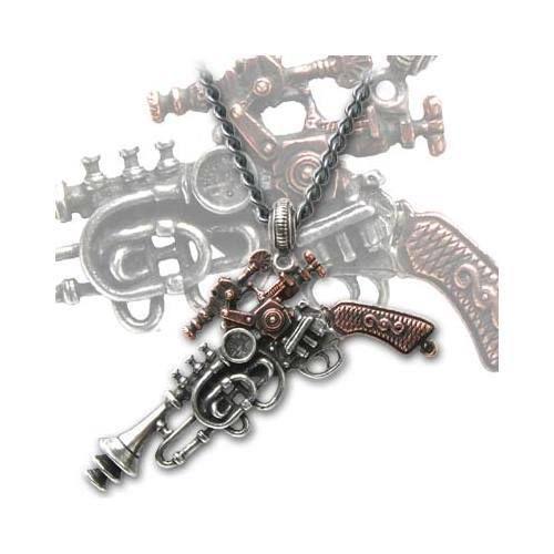 Alchemy Empire The Duelist Cantosonic Wave Gun Pendant Steampunk