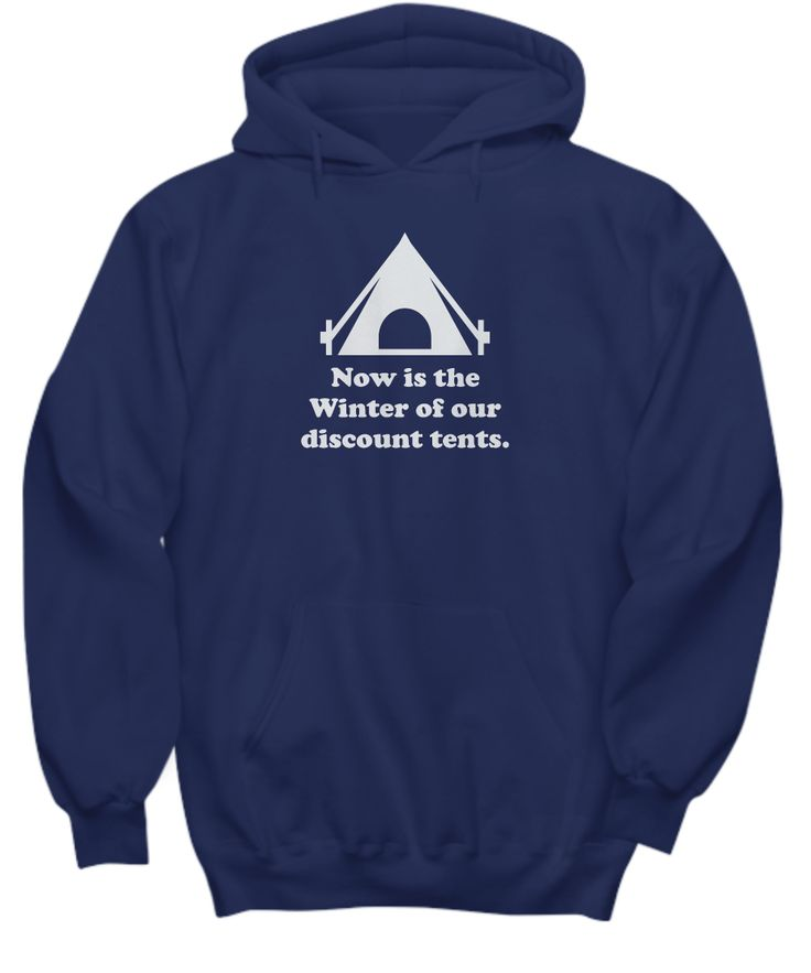 William Shakespeare Pun T Shirt - Winter of Our Discount Tents - Funny Puns Literary History Inappropriate   **Other Styles and Colors also available**