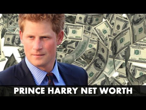 Prince Harry Net Worth & Biography 2017 | Royal Income & Salary! - YouTube
