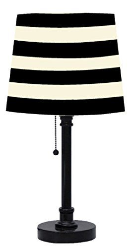 Update your room, dorm or desk with this modern table lamp. You can easily coordinate this lighting accessory with current room decor and bedding sets. Perfect for use on side or end table.