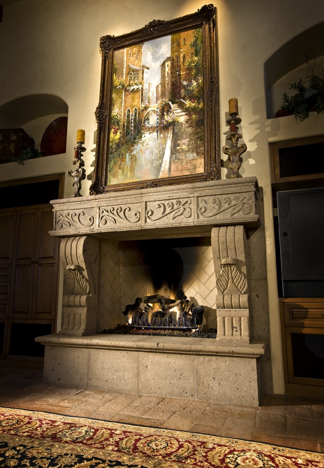 Fireplace Design tuscan fireplace : 129 best Tuscan Style images on Pinterest