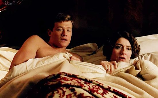 downton abbey season 5: Jimmy and Lady Anstruther caught in bed together!!