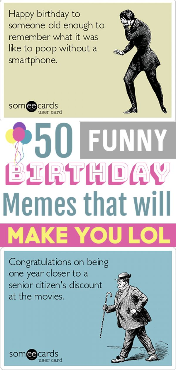 Funny Birthday Memes | Funny happy birthday meme, Funny ...