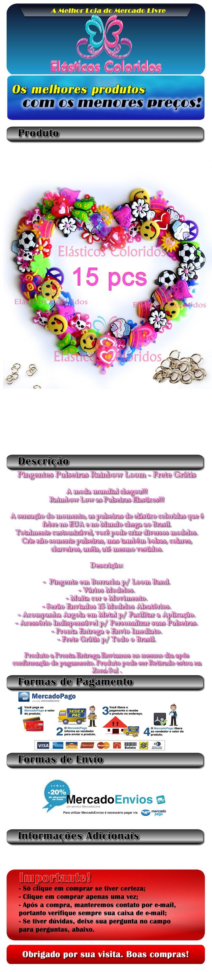 http://www.elasticoscoloridos.com.br FABRICA DE PULSEIRAS ESTRELA-FABRICA DE PULSEIRAS ESTRELA PB KIDS-FABRICA DE PULSEIRAS RI HAPPY-FABRICA DE PULSEIRAS LOOM BANDS-FABRICA DE PULSEIRA ESTRELA- MAGICAL LOOM -PULSEIRAS DE ELASTICOS-PULSEIRAS GOMITAS-COMO FAZER PULSEIRAS DE ELASTICOS COLORIDOS-COMO FAZER PULSEIRA ELASTICO PASSO A PASSO- CLARO (11) 9.7641 4980- http://www.elasticoscoloridos.com.br- https://www.facebook.com/pages/El%C3%A1sticos-Coloridos/844302925622086-