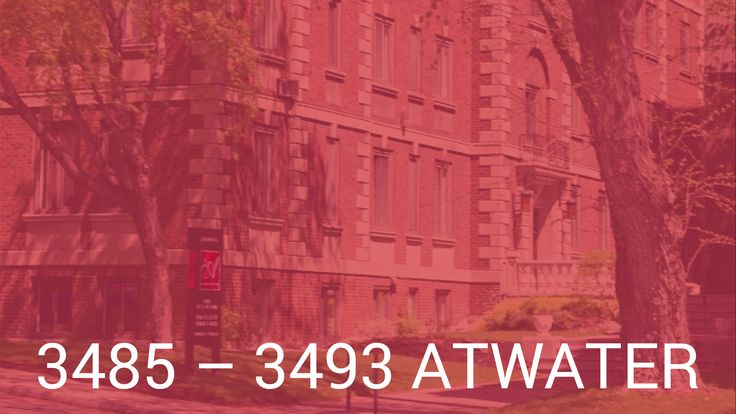 Atwater Apartments - Montreal Apartments for Rent - Cromwell Management ...