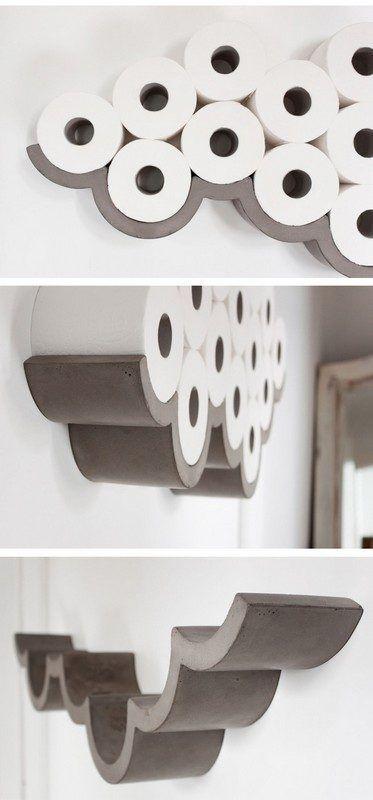 29 Platzsparende Aufbewahrungsideen für das Badezimmer, die schön aussehen