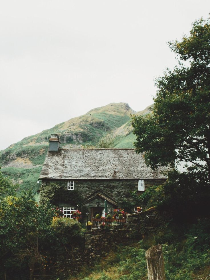 Lake District. Love this,the English countryside is truly unique and this reminds of beautiful family trip to the lakes. (& a stag party!)