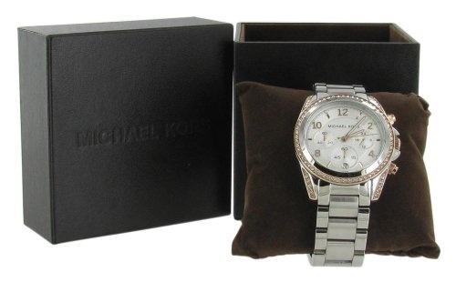 Michael Kors Women's MK5459 Blair Silver & Rose Gold Watch - $204.94 - SAVE 18%