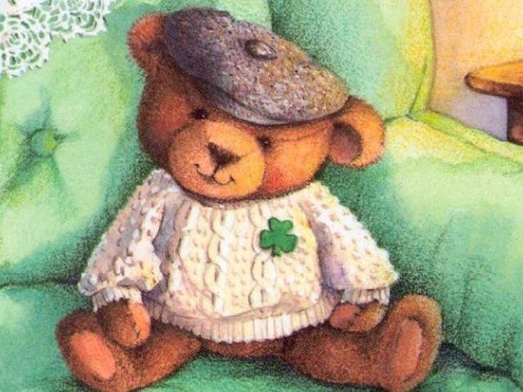 Papel de Parede Gratuito de Desenhos : Ursinho de Pelúcia