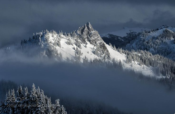 Popular on 500px : Weather Breaks over Hurricane Ridge by bwm1953