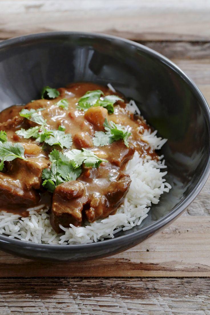 Curry de boeuf très parfumé | On dine chez Nanou
