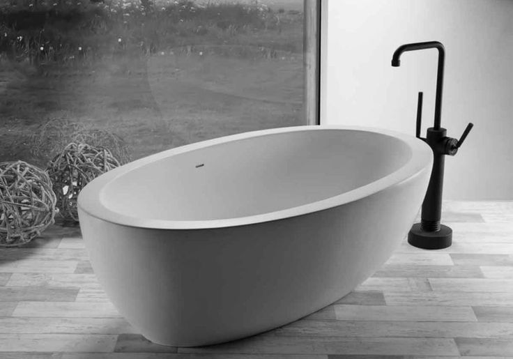 Les 25 meilleures id es de la cat gorie baignoire ovale sur pinterest sdb v - Baignoire retro castorama ...