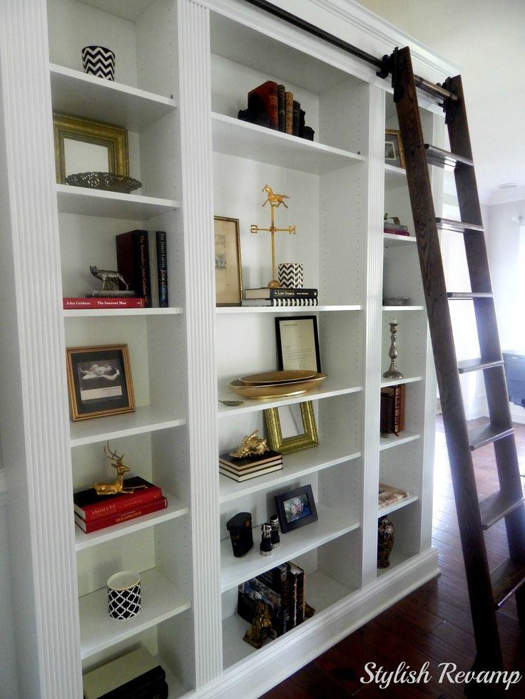 87 Best Library Ladders And Bookshelves Images On