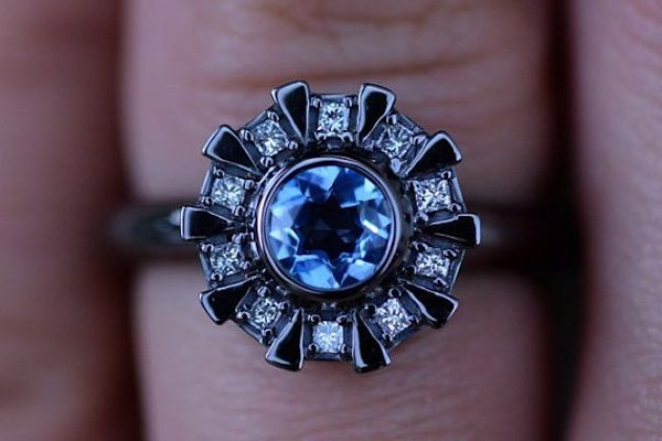 "Who Wouldn't Say ""Yes"" To An Iron Man Arc Reactor Engagement Ring?"