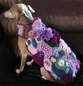 Crochet and Knit Freeform Wearables