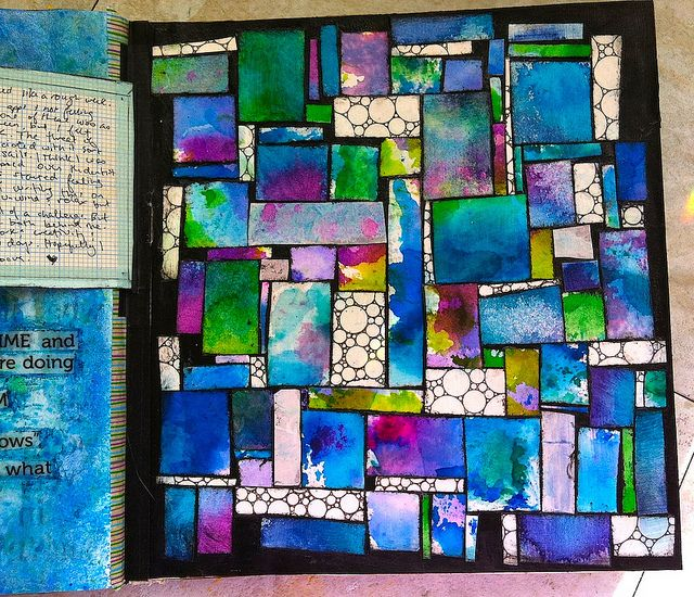 early september art journaling by gingerblue http://www.flickr.com/photos/chel1974/sets/72157630694996158/