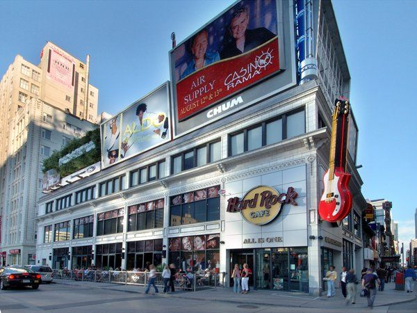 Hard Rock Café Toronto, in Canada.