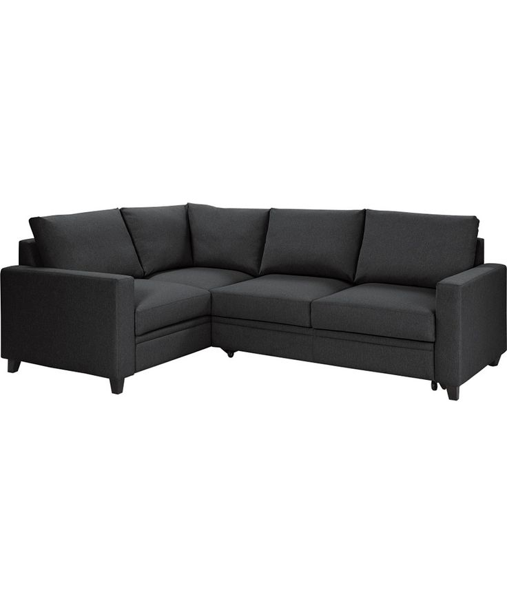 Buy Hygena Seattle Left Hand Sofa Bed Corner Group - Charcoal at Argos.co.uk  £498.99