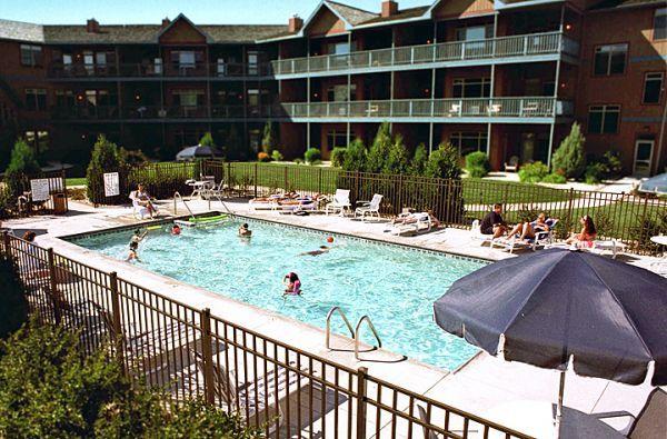 13 Door County, Wisconsin Lodging and Resorts with Indoor and Outdoor Pools--Scandinavian Lodge in Sister Bay, Wisconsin.