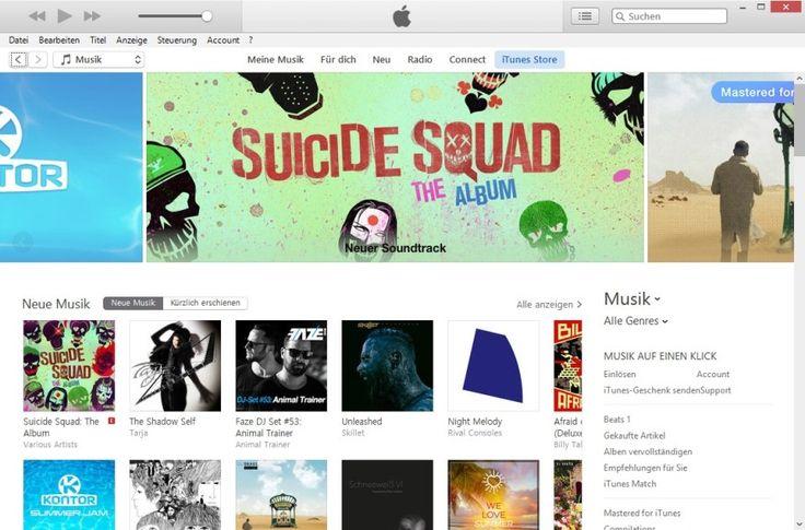 Screenshot 1 - iTunes