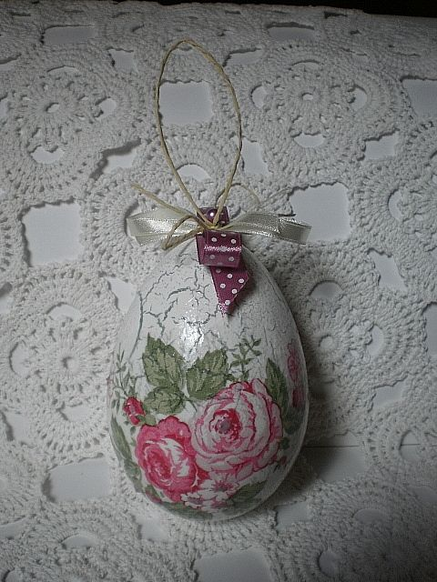 easter egg - decoupage