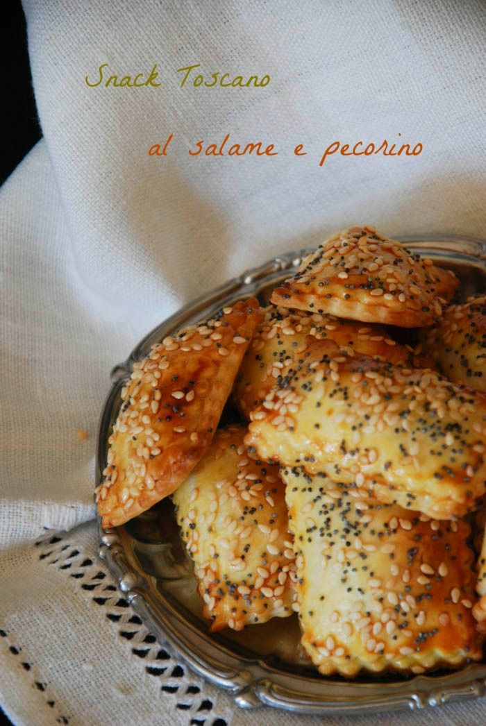 Snack salame  e pecorino