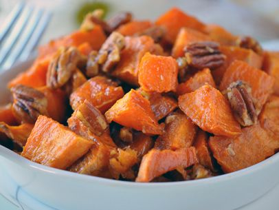 Praline Roasted Sweet Potatoes from @Shaw's