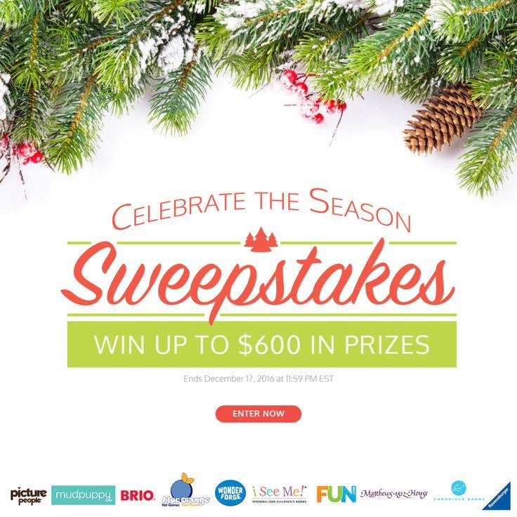 Win a $500 VISA® Gift Card in the @ISeeMe_Books Celebrate The Season Sweeps!