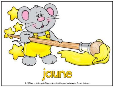 """Les créations de Stéphanie: Affiches """"Les couleurs"""""""