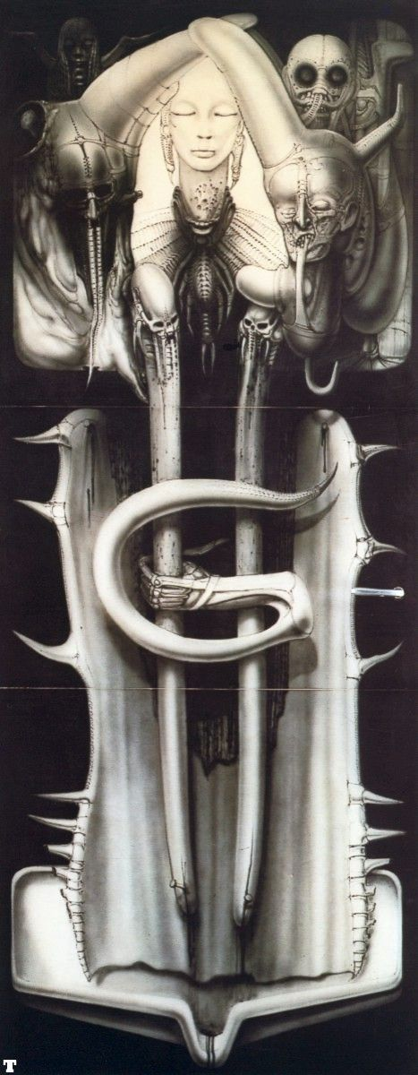 Kitchen Door by H. R. Giger