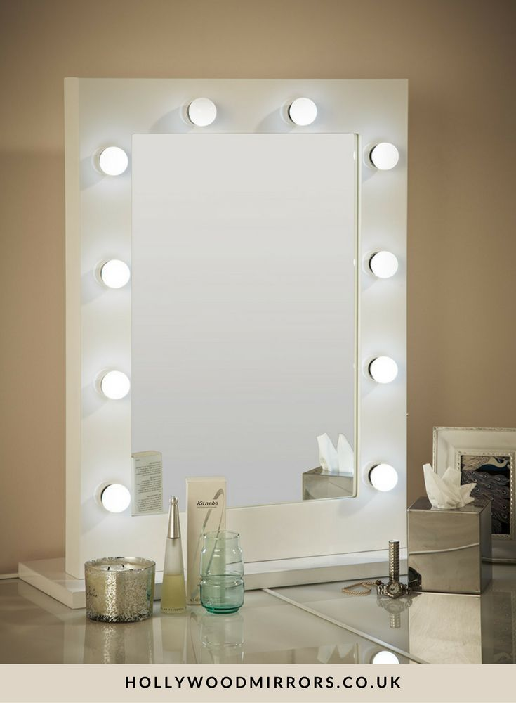 Best 25 mirror with light bulbs ideas on pinterest - Lighted vanity mirrors for bathroom ...