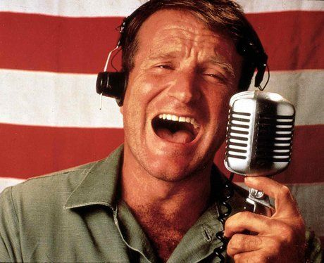 The actor shone in his role as Adrian Cronauer, an irreverent radio DJ stationed in Vietnam during the war, in 1987 film 'Good Morning Vietnam'.
