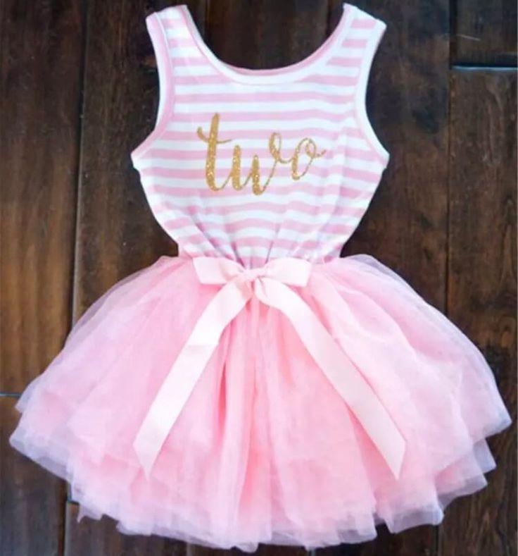 2nd Birthday Tutu Sleeveless Dress| £17.95 Shop here ️ https://www.ittybitty.co.uk/product/itty-bitty-pink-white-second-birthday-tutu-sleeveless-dress/ PayPal or Credit/Debit card Secure website Worldwide shipping #birthday #babygirl #babyboutique #niece #princess #almostone #one #firstbirthday #tutu #pink #dresse #mum #daughter
