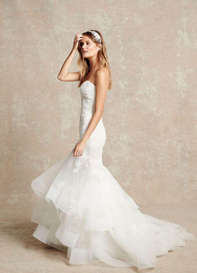 細部までこだわりが見られる純白マーメイドドレス♡ モニークルイリエの花嫁衣装・ウエディングドレスまとめ。