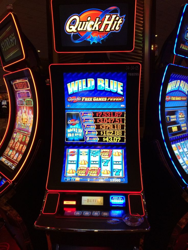 Slot machines quick hits used casino layouts