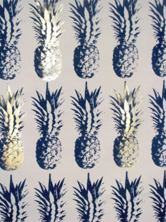 Indigo Grey Pineapple