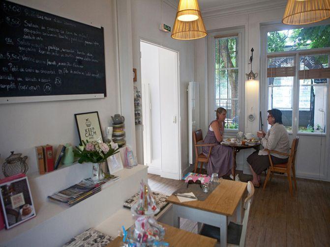 Salon de thé Le Dinette café