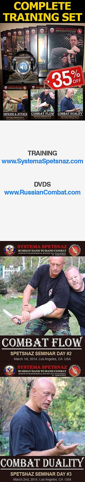 DVDs Videos and Books 73991: Russian Martial Arts Dvd Set - 20 Self-Defense Videos Of Russian Combat Systema -> BUY IT NOW ONLY: $636.48 on eBay!