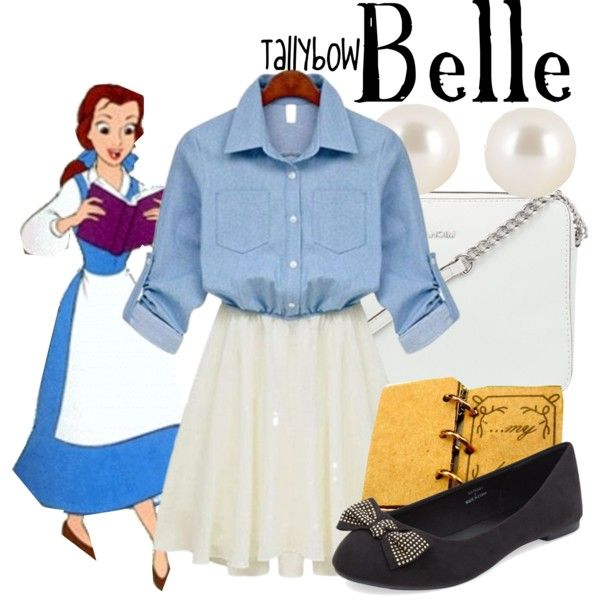 Disney Inspired Outfits Belle 25+ Best Ideas about D...