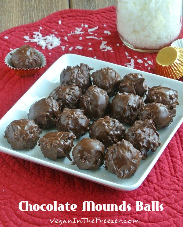This sweet and delectable Coconut Chocolate Mounds Candy recipe is inspired by the Mounds Bar.